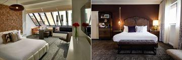 Hotel Vintage Portland - A Kimpton Hotel, Sky Loft Room and Urban Soak Room