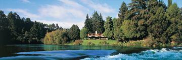 Huka Lodge, Taupo
