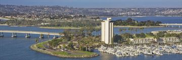 Hyatt Regency Mission Bay, Aerial View