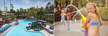Pool and Kids Pool Area at Hyatt Regency Newport Beach