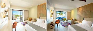 Ocean View Junior Suite and Oceanfront Junior Suite Swim-Up at Hyatt Ziva Cap Cana