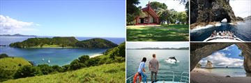 Scenery and Attractions in the Bay of Islands, North Island