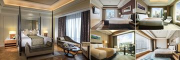 Intercontinental Asiana, A Selection of Classic Rooms, Executive Rooms and Suites