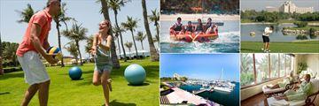 Activities at JA Jebel Ali Beach Resort Hotel