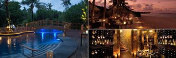 JA Manafaru, Romantic Dining Experience