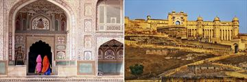 Jaipur's Intricate Temples & Amber Fort