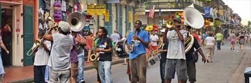 Jazzing it up in New Orleans