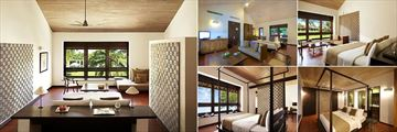 Jetwing Lagoon, Negombo, Family Deluxe Room, Deluxe Room, Bawa Room, Deluxe Suite and Bawa Suite