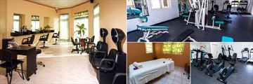 Jolly Beach Resort & Spa, Spa Salon, Fitness Room and Spa Treatment Room