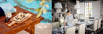 Jumeirah Al Naseem, Madinat Jumeirah, Pool Bar and Rockfish Restaurant