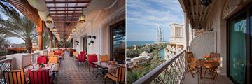 Jumeirah Al Qasr, Madinat Jumeirah, Al Hambra Terrace and Ocean Deluxe Room Balcony