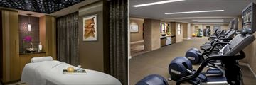 PRIMP Spa Treatment Room and Fitness Centre at JW Marriott Hotel Essex House
