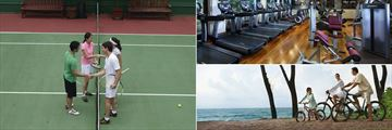 Tennis, Fitness Centre and Sunset Bike Tour at JW Marriott Phuket Resort & Spa