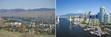 Kamloops & Vancouver Skyline