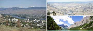 Kamloops, Fraser Canyon & Mount Robson landscapes