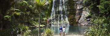 Karekare waterfall, Auckland