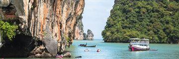 Kayaking in Phang Nga National Park