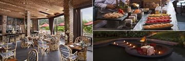 Keemala, Mala Restaurant, Breakfast Buffet and Romantic Dining