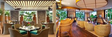 Kempinski Seychelles Resort Baie Lazare, Cafe Lazare and Planters Bar