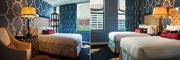 Kimpton Hotel Monaco Philadelphia, Park View King Room and Park View Queen-Queen Room