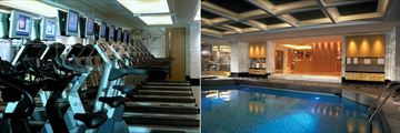 Kowloon Shangri La, Gym and Health Club Indoor Pool