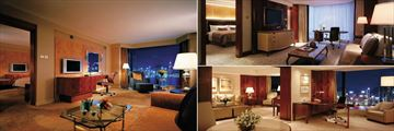 Kowloon Shangri La, Premier Harbour View Suite, Executive Suite and Specialty Suite