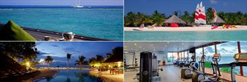 Kuredu Island Resort Spa Maldives Book Now With Tropical Sky