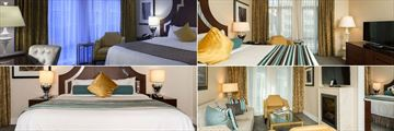 L'Hermitage Vancouver, Classique Boutique Room, Boutique Room, One Bedroom Boutique Suite and One Bedroom Signature Suite
