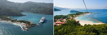 Labadee Island scenery & activities