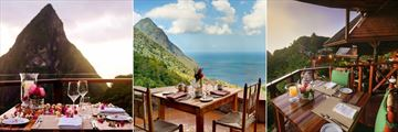 Dining at Ladera Resort