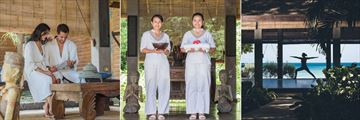 Laluna, Spa Couple, Spa Attendants and Yoga