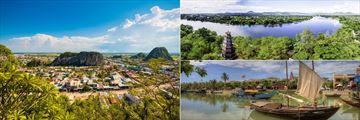 Landscapes of Da Nang, Hue and Hoi An