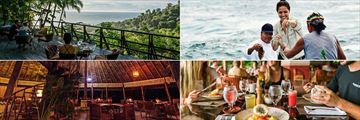 Dining experiences at Lapa Rios Lodge
