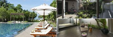 Layana Resort Koh Lanta, Wellness Pool, Linger Longer Spa Courtyard and Hydro Massage Pool
