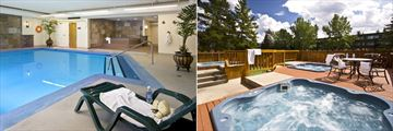 Lobstick Lodge, Indoor Pool and Hot Tubs