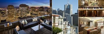 Loews Regency San Francisco, Spirits in the Sky, City Local Area, Brasserie Bar and Spa