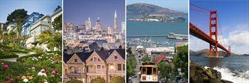Sights of San Francisco, California