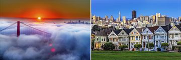 Golden Gate Bridge & Cityscape views in San Francisco