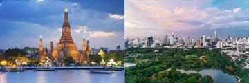 Lumpini Park & Wat Arun Temple, Bangkok