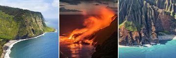 Luscious Valleys and Volcanoes of Big Island & Kauau Coastline