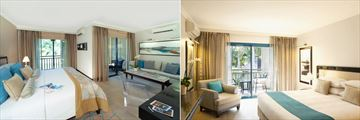 Lux St Gilles, Junior Suite and Deluxe Room