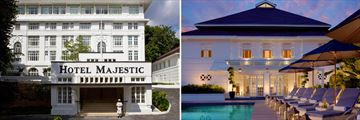 Luxury Malaysia Explorer; Hotel Majestic Exterior and Pool