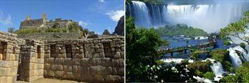 Machu Picchu & Iguassu Falls