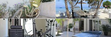MAHAMAYA Boutique Resort, Gili Meno, Cycling, Hammock on Beach, Table Tennis and Gym