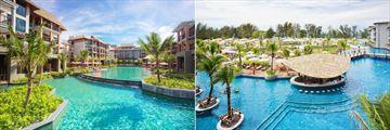 Mai Khao Lak Beach Resort & Spa, Resort, Pool and Pool Bar
