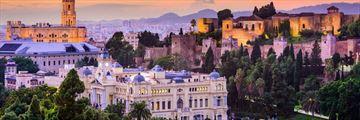 Malaga skyline, Costa del Sol