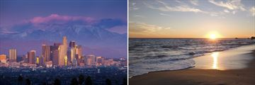 Malibu Beach & Cityscapes of Los Angeles