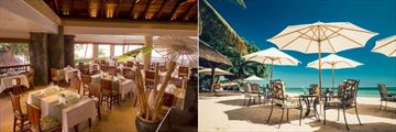 Maritim Resort & Spa, Le Banyan and La Maree Beach Restaurant