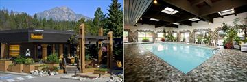 Marmot Lodge, Exterior and Indoor Pool