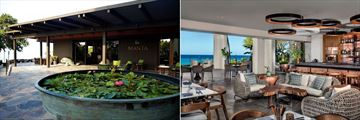 Manta Restaurant and Copper Bar at Mauna Kea Beach Hotel